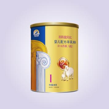 百跃益贝比配方羊奶粉1段 400g